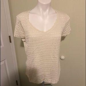 Emma James large ivory sweater